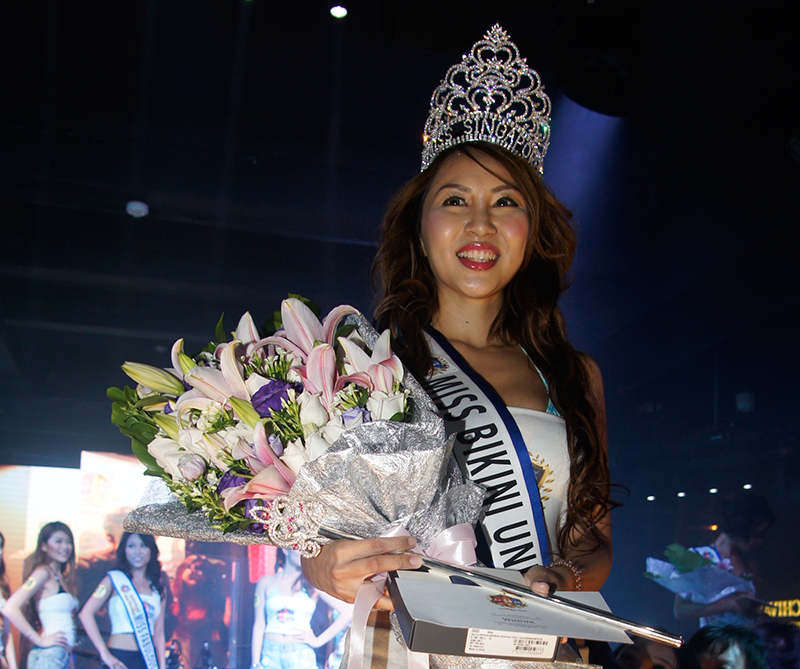 Miss Bikini Universe Singapore 2014 Winner